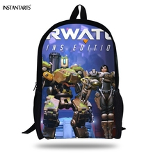 2019 Overwatch Hot Backpacks Teenage School Bags anime Gift Large Satchels