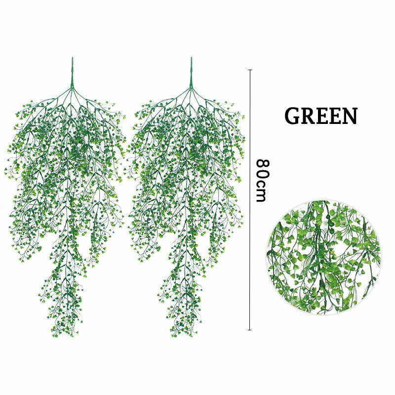 Artificielle faux soie fleur vigne suspendus guirlande plante maison jardin mariage décor faux fleurs plantes artificielles