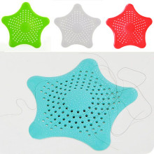 Звезда в форме раковины для ванной комнаты фильтр для слива волос звезда для слива волос для ванной затычка для раковины фильтр для душа 3