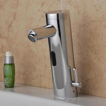 Toilet brass infrared sense faucet, Bathroom wash basin sense faucet mixer tap,Copper automatic sense faucet water chrome plated фото