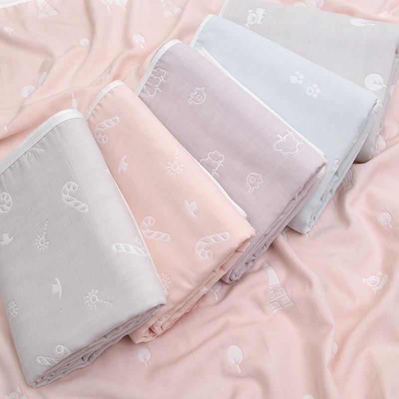 150x200 cm Super doux matériel Tencel adulte couverture enfants bébé gaze couvert serviette couverture pour nouveau-né bébé