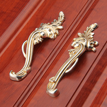 C:C:96mm Antique Silver Drawer Knobs Closet Furniture handles Pull Vintage Style Cabinet Door Handles