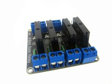 5PCS/LOT 4 Channel 5V DC Relay Module Solid State low level SSR AVR DSP for Arduino