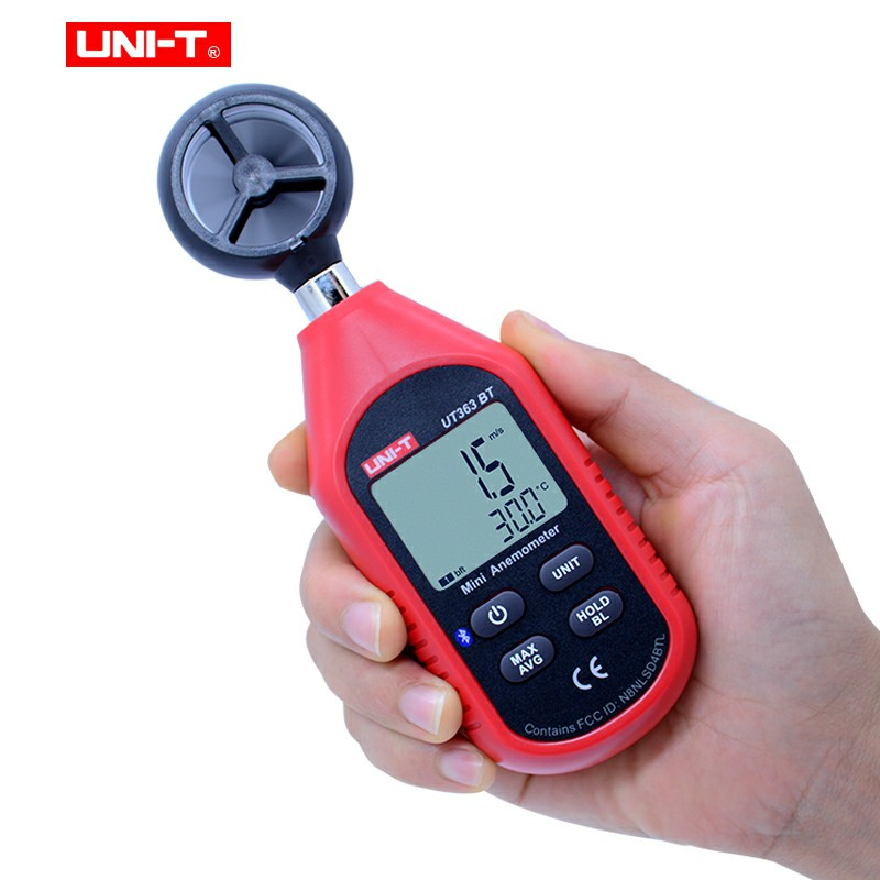 Anemometer UT383BT UT333BT Light Mini Meter UT353BT T Digital Humidity UT363BT UNI Digital LUX Sound Meter Meter