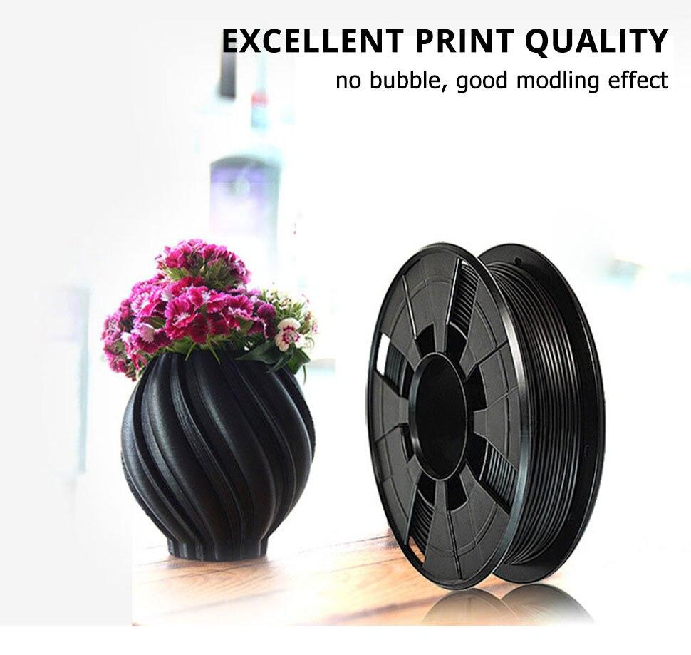 Plástico Cor Preto para Impressão 3D