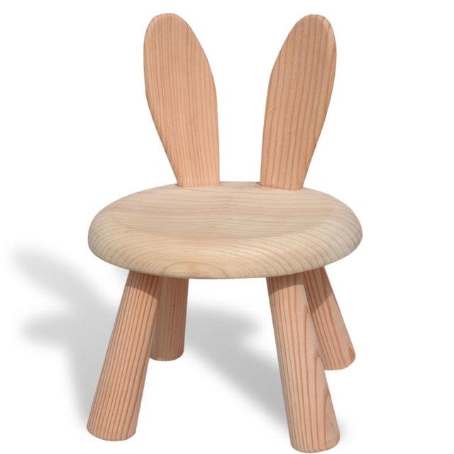 Children's Solid Wooden Chair