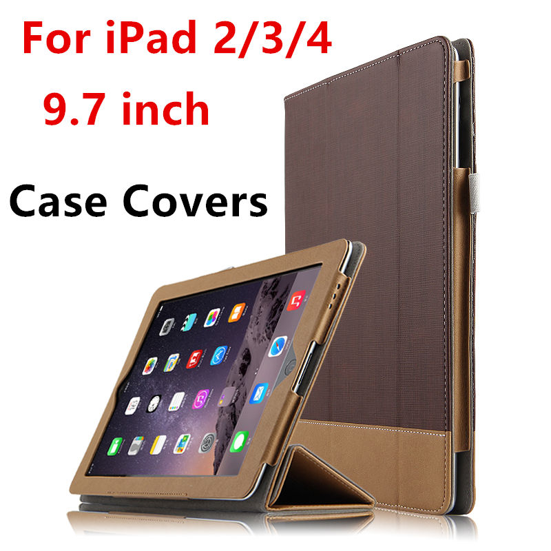 Case For Apple iPad 4 iPad3 iPad2 Protective Smart cover Leather PU Protector Tablet For iPad2/3/4 Sleeve Covers 9.7 inch cases nice soft silicone back magnetic smart pu leather case for apple 2017 ipad air 1 cover new slim thin flip tpu protective case