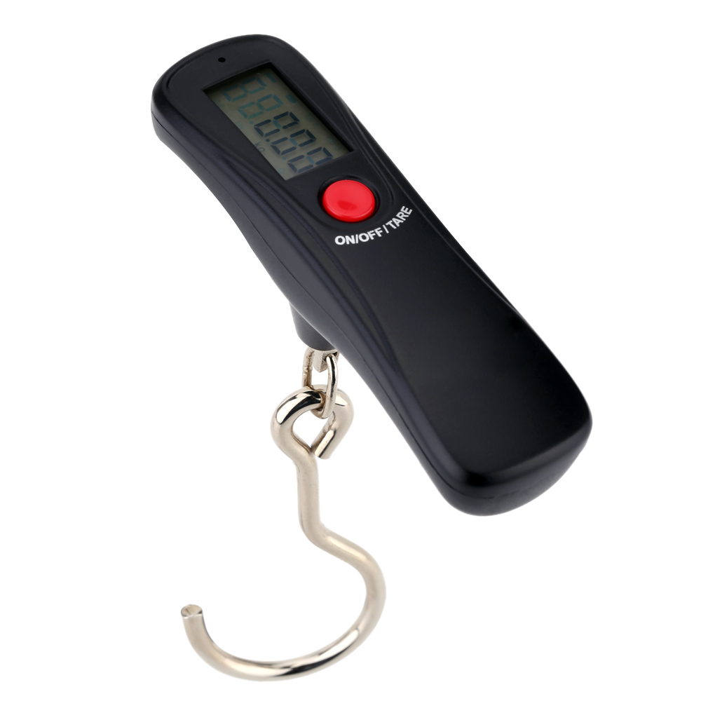 50kg/10g Mini Digital scales balance Balance Libra Pocket scales Hanging Luggage scale for Travel Fishing weight weighing scales 800g electronic balance measuring scale with different units counting balance and weight balance