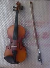 High quality wood color violin 1/4 violin handcraft violino Musical Instruments