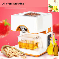 Fully Automatic 220V Seed Oil Press Machine Home Use Hot And Cold Peanut Oil Pressing Presser