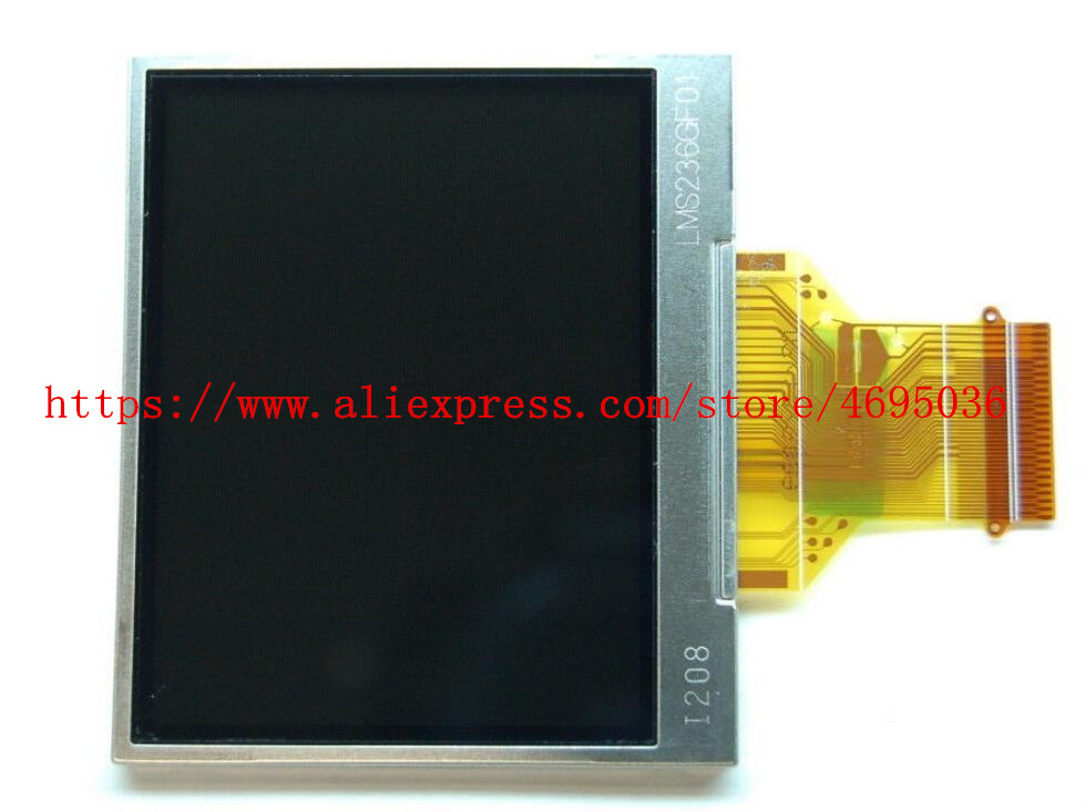 2PCS/NEW LCD Display Screen For <font><b>SAMSUNG</b></font> S760 <font><b>S860</b></font> Digital Camera Repair Part image