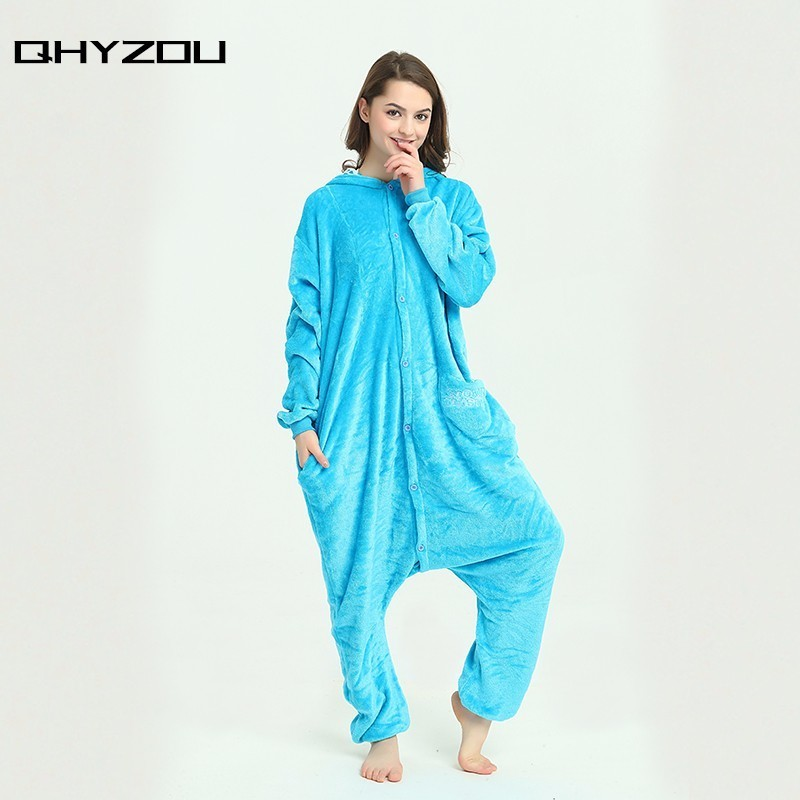 onesie jumpsuit pajamas for adults womens juniors sesame street cookie monster union suits footie christmas blue onsie pijamas on aliexpresscom alibaba - Juniors Christmas Pajamas