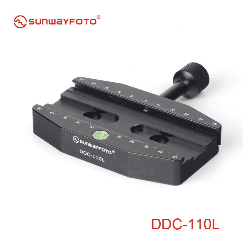 SUNWAYFOTO DDC-110L 110mm Screw-knob Release Clamp for Tripod Head  Leveling Base Suit for Large format DLSR and Telephoto Lens martyrs faith hope and love and their mother sophia 3d model relief figure stl format religion for cnc in stl file format