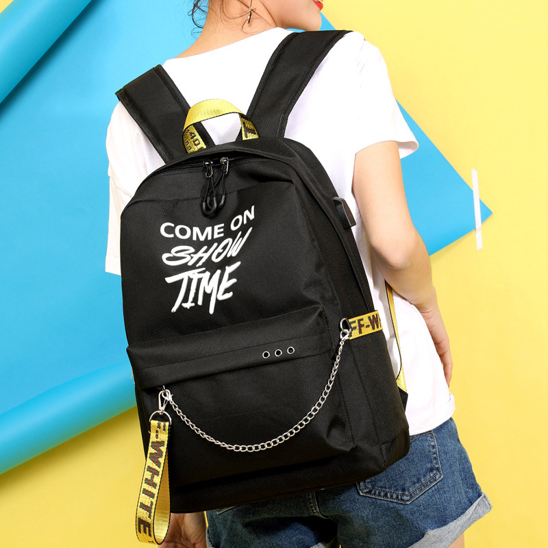 Girls Luminous Chain Back to School Backpack 3