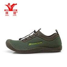 Xiangguan 2016 nueva amante atléticos de Lycra tela que vadea walking secado rápido marca calidad zapatos para hombre 33009