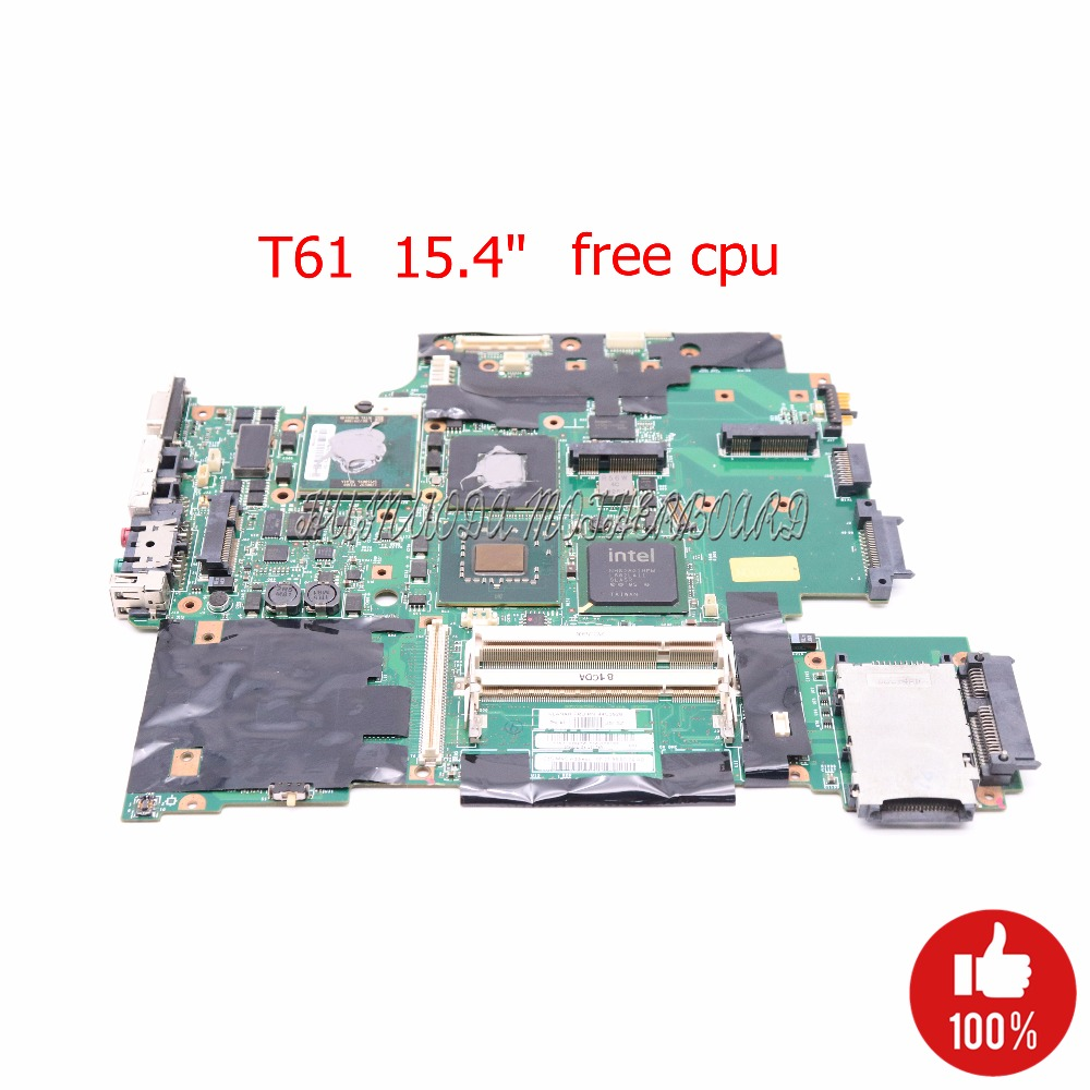 NOKOTION 42W7876 44C3928 Main board for lenovo IBM thinkpad T61 laptop motherboard 965PM DDR2 15.4 ATI 128M graphics free cpu girls dress summer girl floral princess party dresses children clothing wedding tutu baby girl clothes 2 3 4 5 6 7 8 9 10 years