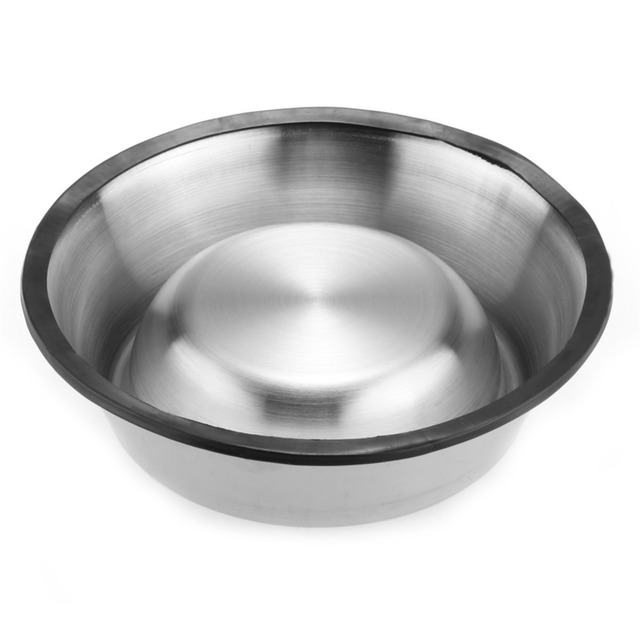 Stainless Steel Pet Bowl with Antiskid Bottom