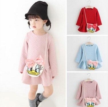 baby girl dresses: brand autumn baby dress kids clothes vestidos princess children dress kids dresses for girls