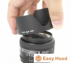 Image 4 - Evrensel Lens Hood boyutu 52mm 55mm 58mm 62mm 67mm 72mm 77mm 82mm çoğu için uygun kamera modelleri Drop Shipping