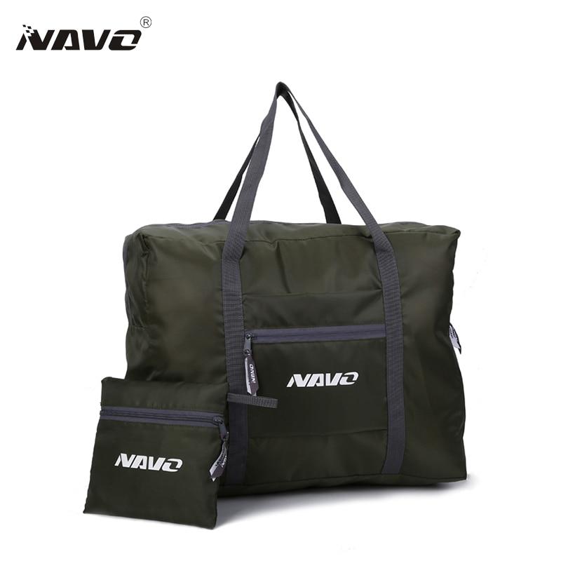 NAVO zložljive potovalne torbe velike kapacitete zložljive torbice - Prtljaga in potovalne torbe
