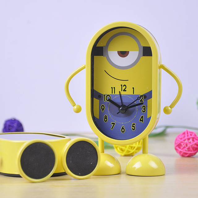 US $21 49 |Despicable Me Minion Alarm Clock(random to shipping)-in Alarm  Clocks from Home & Garden on Aliexpress com | Alibaba Group