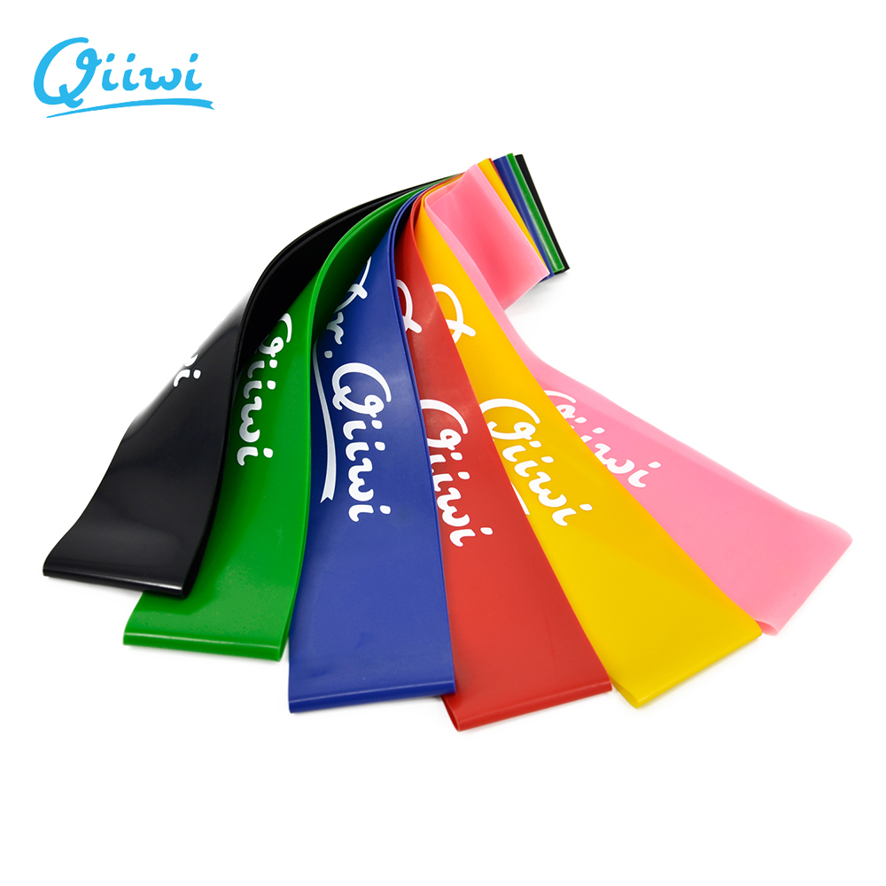 Dr Qiiwi Gum font b Fitness b font Resistance Bands Elastic Stretching Rubber Loop Band for