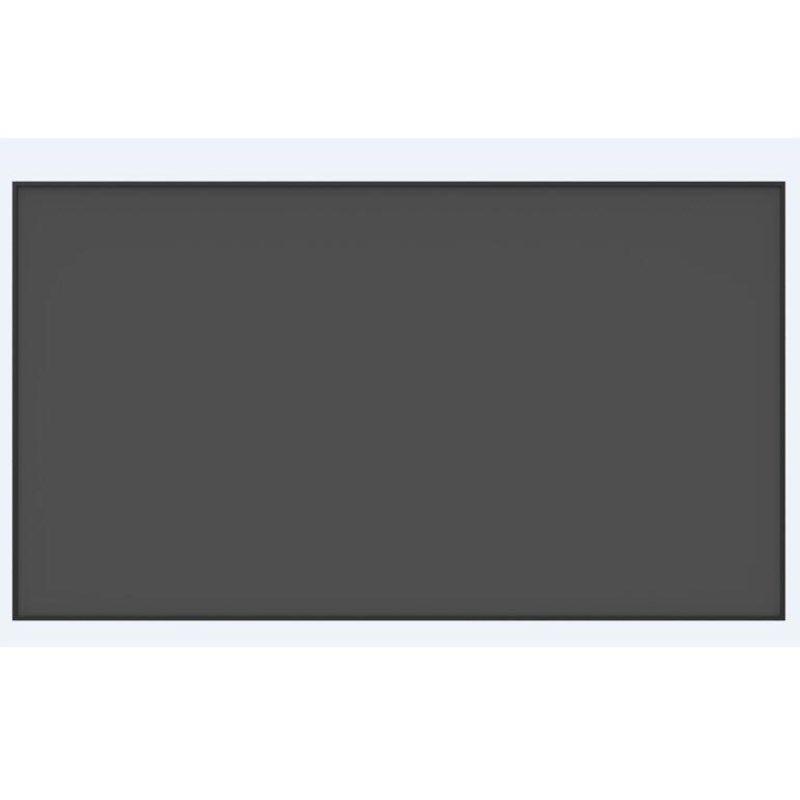 120 Inch 16:9 HDTV 4K 3D Anti-Light Rejection Black Crystal Ultra Thin Fixed Frame Projector Screen for Long Focus Projector 3d projector 1024 768 native resolution 3600ansi lumens short focus projector 1m distance have 80inch screen 3d glass free gift