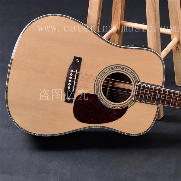 "OEM custom guitar, 41"" Acoustic Guitar,solid Spruce top, rosewood fingerboasrd Free Shipping"