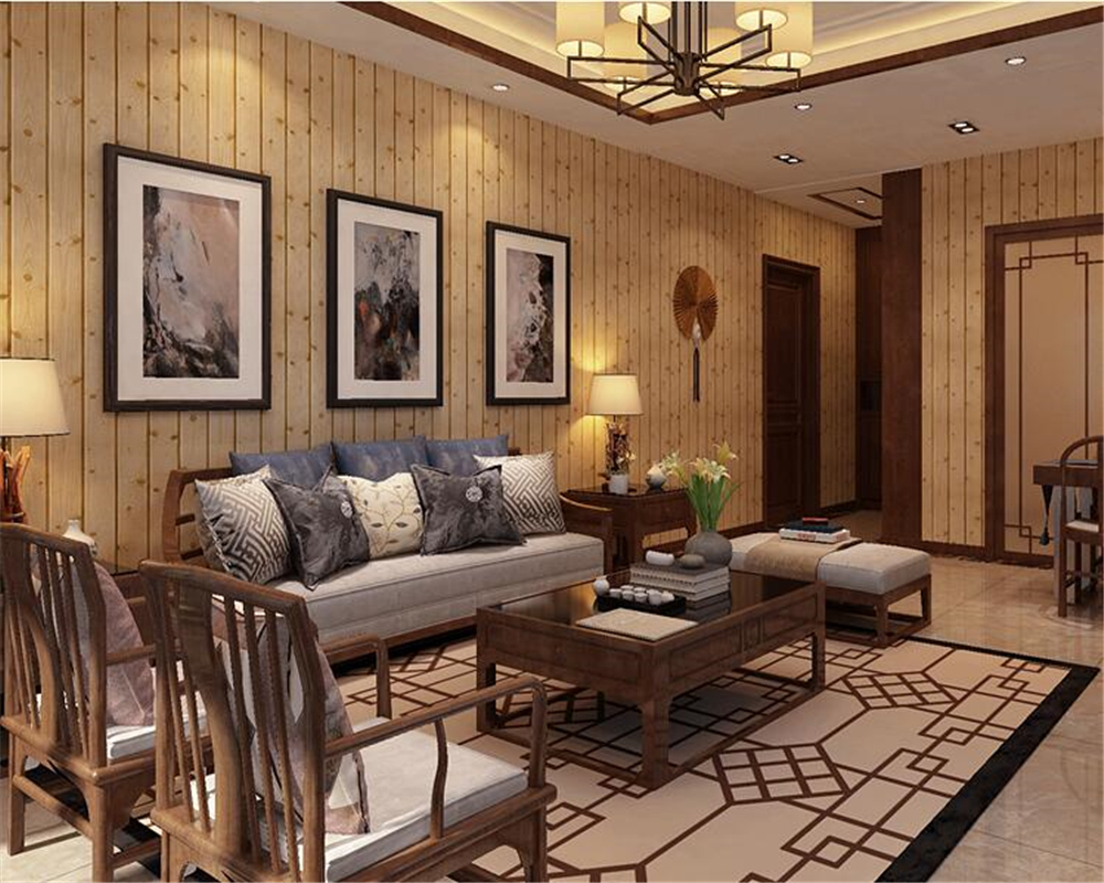 beibehang American simulation tree pattern coffee shop hotel tea shop clothing store office wall paper PVC works 3d wallpaper loft american edison vintage industry crystal glass box wall lamp cafe bar coffee shop hall store club