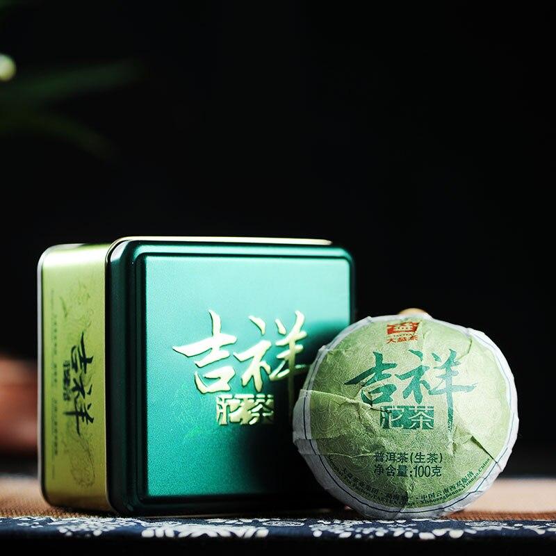 [GRANDNESS] JI XIANG Tuo cha * 2014 yr 1401 Premium Tuocha MengHai Dayi TAETEA RAW Sheng Puer Pu Erh Er Cha Tea 100g