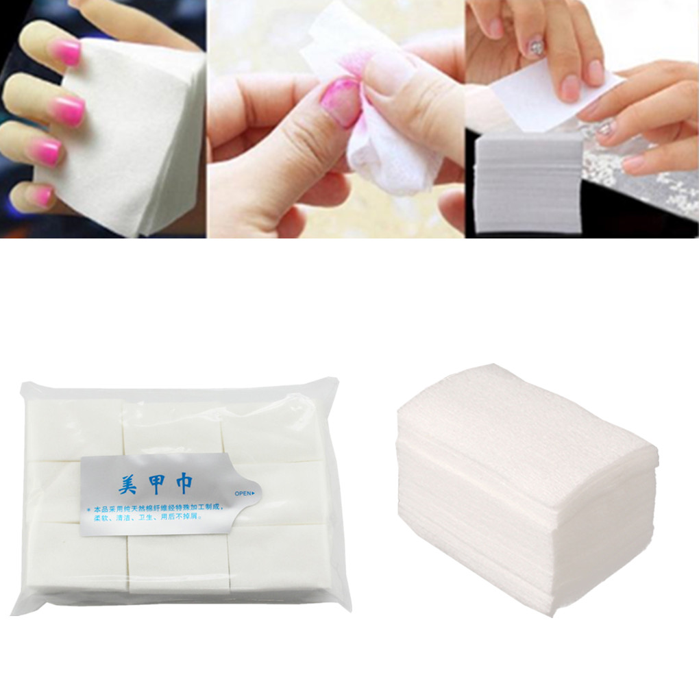 High Quality New Portable Nail Art Wipes Manicure Polish Wipes Cotton Lint Cotton Pads Paper Salon Nail Art Cleaner Tools