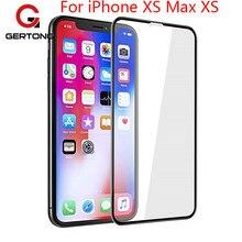 d30f859f014 Para iPhone XR XS Max completa de la cubierta de vidrio templado Protector  de pantalla para iPhone XS Max 5 5S iPhone 6 s 7 8 Pl..