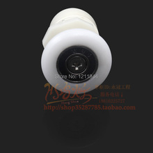 8pcs Shower room pulley hanging round old fashioned shower sliding door bathroom roller