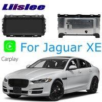 LiisLee Car Multimedia GPS Audio Hi Fi Radio Stereo For Jaguar XE S X760 2015~2018 Original Style Navigation NAVI