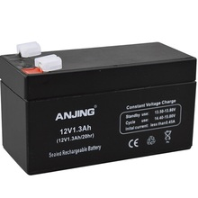 12V 1.3AH закрытый ящик для хранения Батарея свинцово-кислотные перезаряжаемый аккумулятор замена детский игрушечный автомобиль Рюкзаки-кенгуру резервного копирования 12V1. 3AH