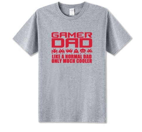 I'm A Gamer Dad Fathers Day Gift Advanced Warfare Console Gaming T Shirt Men Christmas Playstation PC Funny Present Joke T-shirt 2