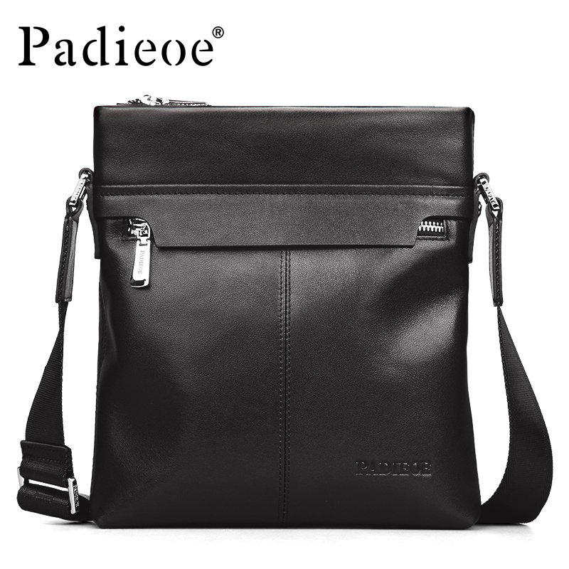 Free shipping men genuine leather zipper envelope shoulder crossbody bags black man handbags crossbody sling messenger bag boston double zipper women leather handbags silver black messenger bags best shoulder bag free shipping