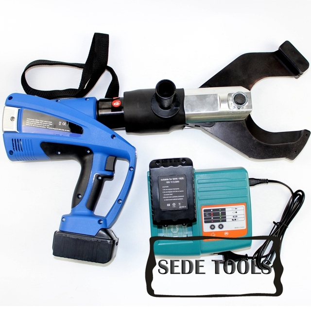 Battery powered hydraulic cable cutter for dia 105mm Cu/Al Cable ...