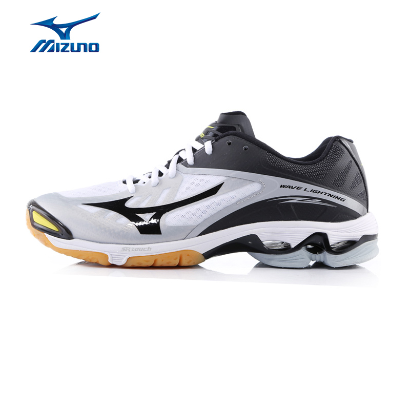 MIZUNO Men WAVE LIGHTNING Z2 Volleyball Shoes Breathable Cushioning DMX Light Sports Shoes Sneakers V1GA160009 YXV004 mizuno wave paradox 2 mizuno mznj1gc1540