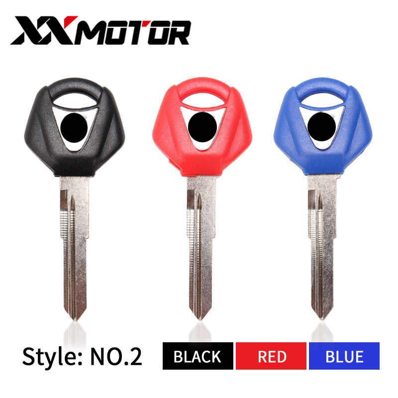 Новый люминесценции мотоцикл болванки ключей необработанное лезвие для YAMAHA R25 R3 xmax X-MAX X MAX 125 200 250