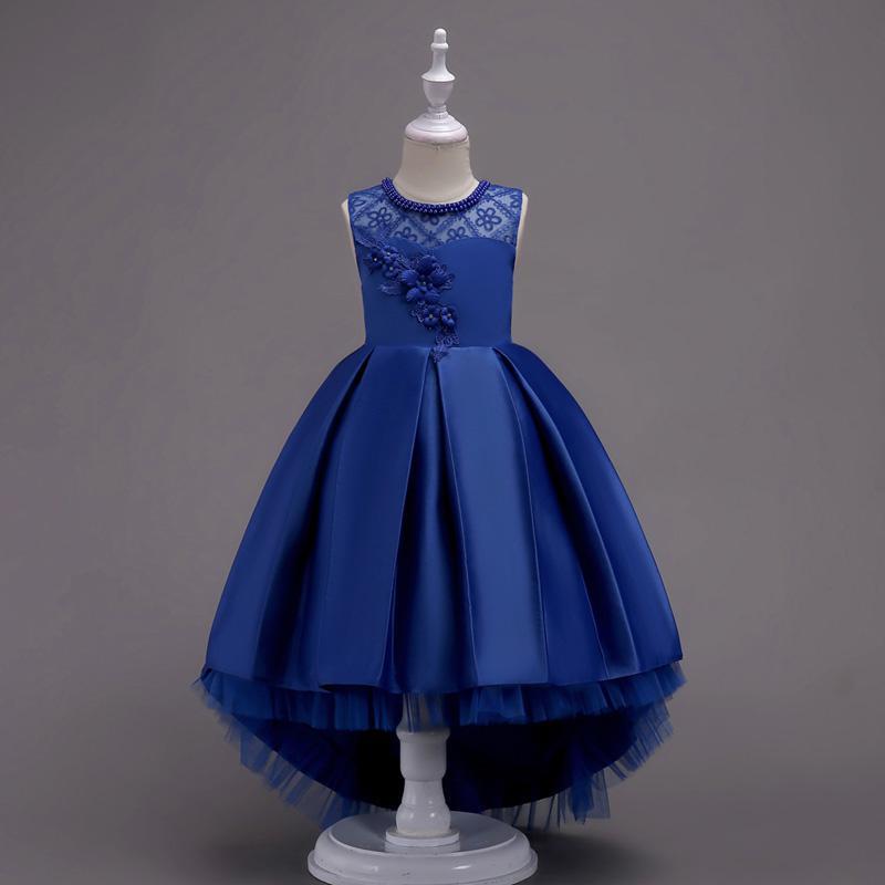 d2b4fc48cc Xabh Prom Dress For Girl Floral Evening Dance Costumes Flower Girl Dresses  Teenage Party Dress Elegant