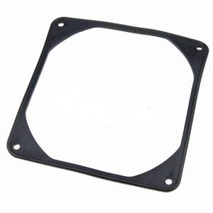 Image 2 - 10PCS 9cm 90mm PC Case Fan Anti Vibratie Pakking Ruisonderdrukking Siliconen Schokabsorptie Pad Zwart 92x 92mm