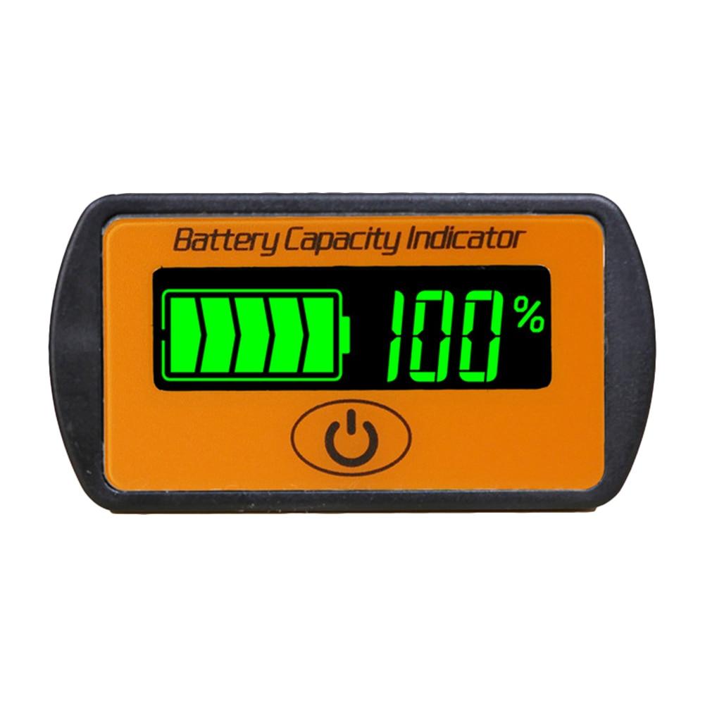 Adjustable 2S 3S 4S 5S 7S Lithium Battery Capacity Indicator 7.4V 12V 24V Lead acid Li-ion Electric Bike Power Voltmeter Display 12v lcd acid lead lithium battery capacity indicator voltmeter voltage tester