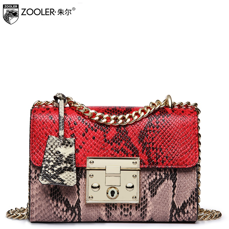 Гарячі ZOOLER сумка з натуральної шкіри - Сумки - фото 3