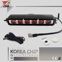 1 PZ LYC Dell'automobile Led Light Strip Lightbar Avvertimento A Led Lampeggiante luci 12 v 3000 K 6000 K Giallo Colore Bianco Per Jeep 2016 Nuovo Bar