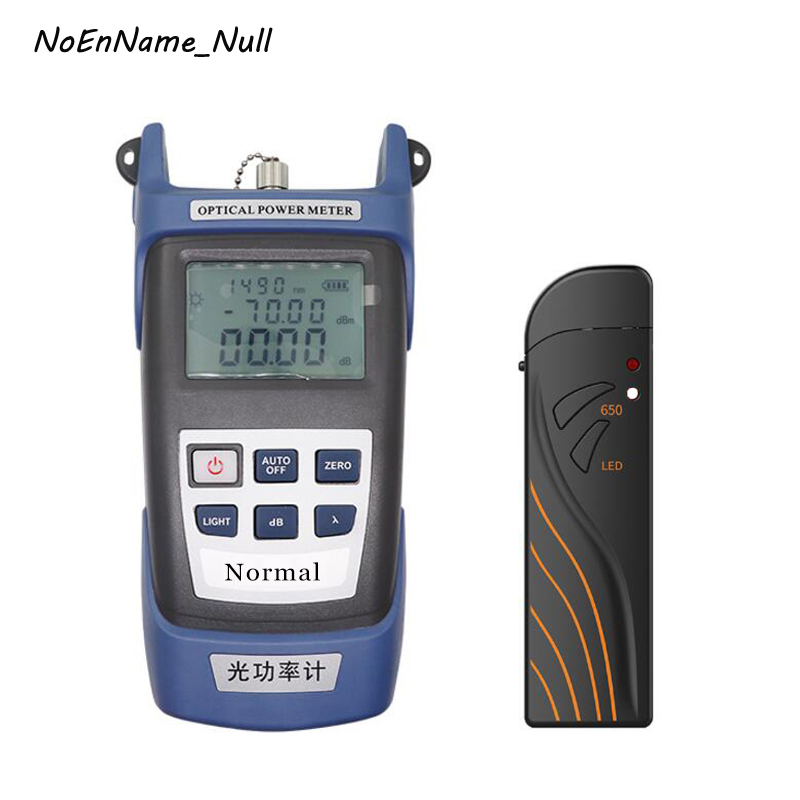 Portable Optical power meter OPM 70 3dBm and 15km 20km 30km Visual fault locator Rechargeable VFL