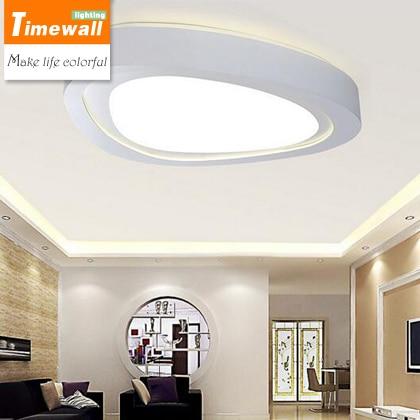 Led woonkamer plafond verlichting moderne minimalistische ronde ...