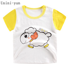 New 2018 new fashion luxury brand Italy top design kids baby boy clothing  summer short-sleeved t-shirt high-quality child fb19d2594c76