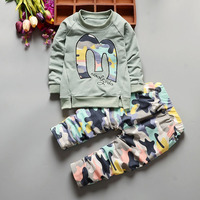Autumn Baby Boys Clothing Set Casual Sport Suits Letter Tracksuit Infant Toddler Girls Clothes For Boy