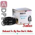 Dia das mães presente pais Meike automático Macro Suit tubo de extensão para Micro Four Third m43 Camera + HOT shoe cover ( silver ) presentes